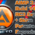 AIMP 3.60 Build 1453 RC3 Español + Skins [Potente Reproductor]